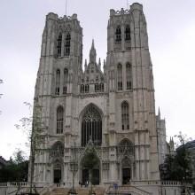 La catedral de San Miguel y Santa Gúdula, Bruselas