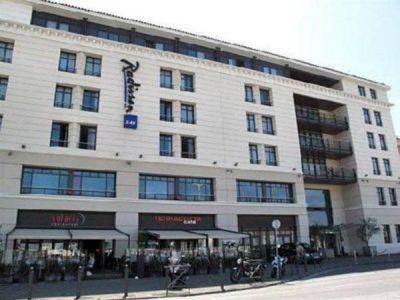Hotel Radisson Blu Marseille Vieux Port exterior