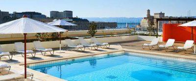 Hotel Radisson Blu Marseille Vieux Port piscina
