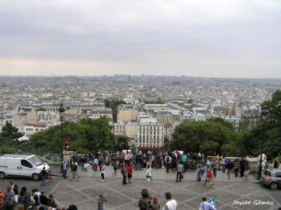 Vistas desde la Sacre Coeur
