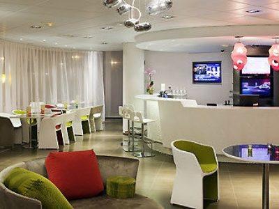 Hotel Suite Novotel Marsella Centro - recepción